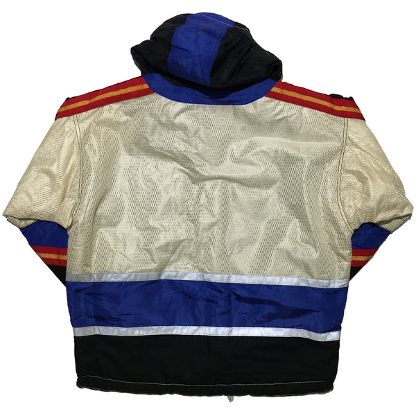 JCK White, Blue, and Red Jacket