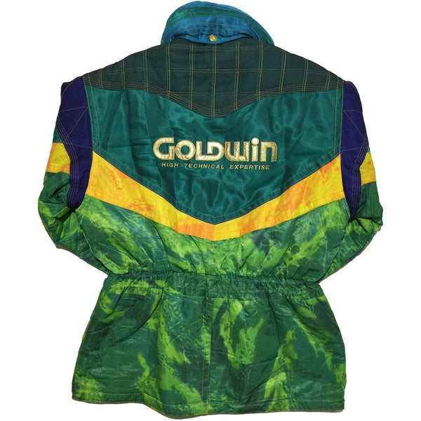 Goldwin Green and Yellow  Jacket
