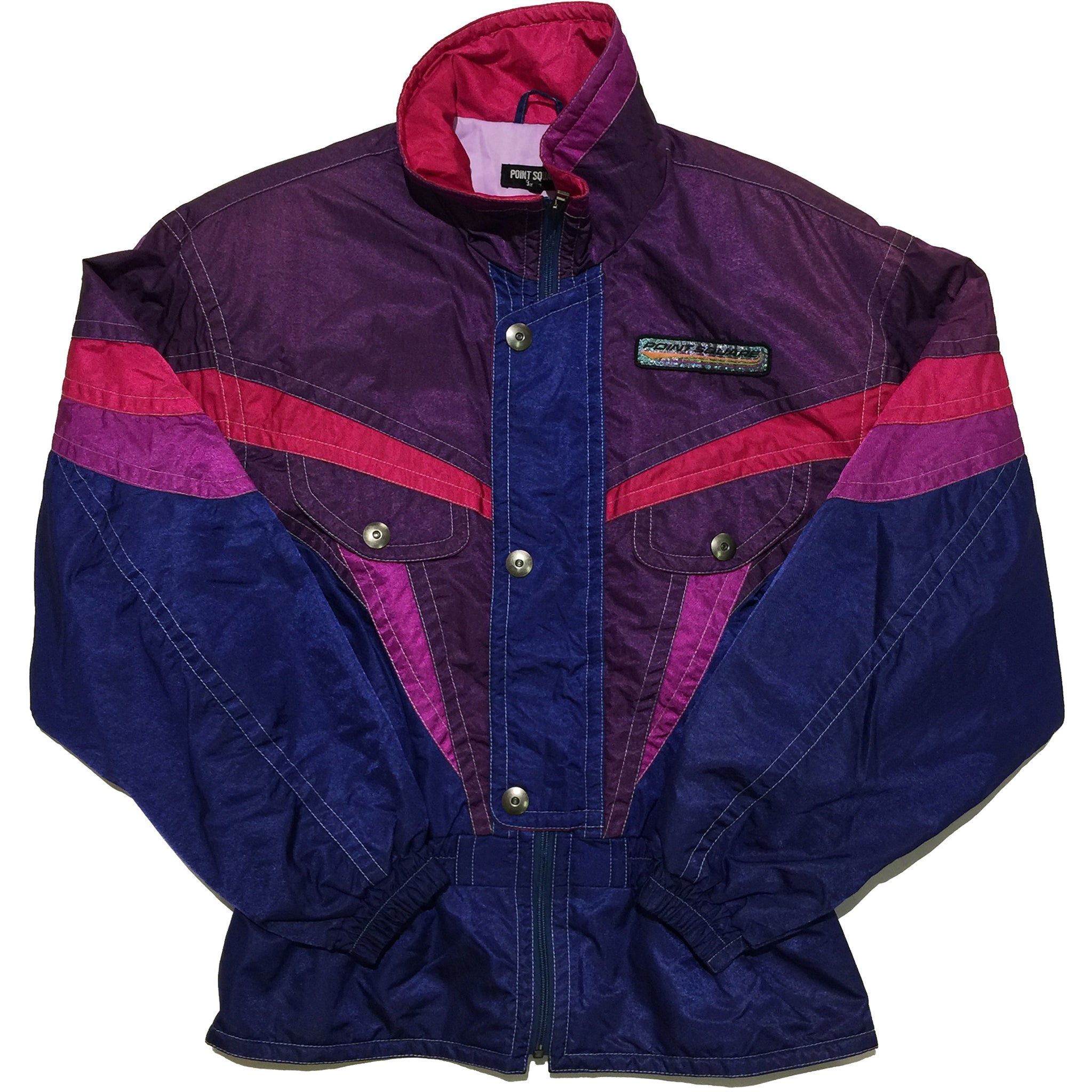 Point Square Purple, Pink, Blue Jacket