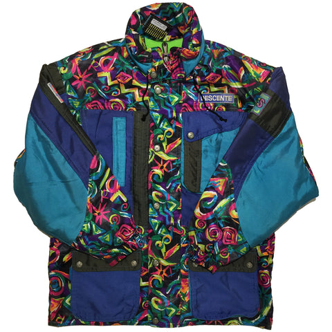 Descente Blue, Pattern Jacket