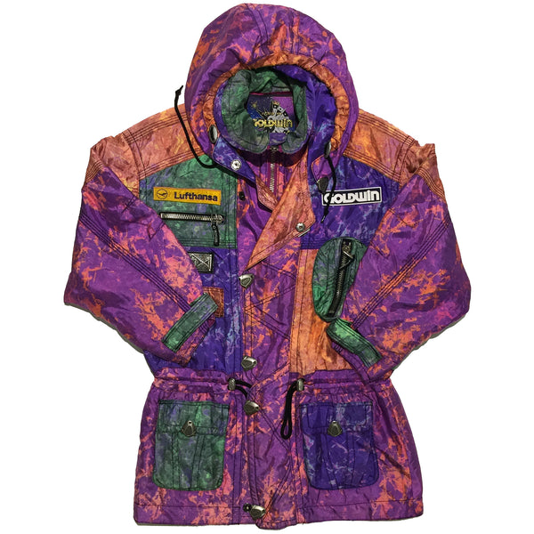 Goldwin Orange, Purple, Blue, Green, Mix Panel Jacket