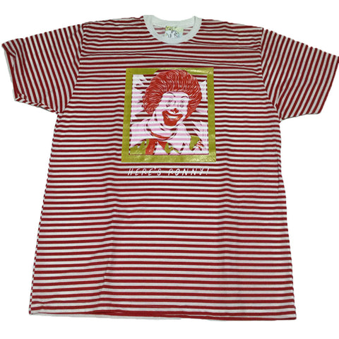 Here's Ronny! PUPPYTEETH FOR BLIM STRIPED TSHIRT