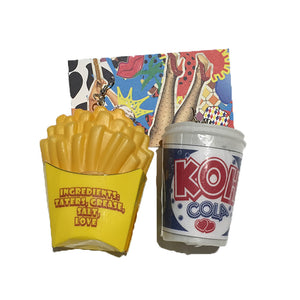 Fries and Cola Earrings by King of Hearts
