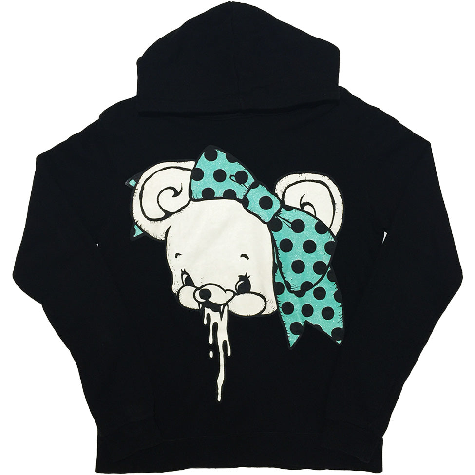 Vintage Deary Ribbon Bear Hoodie from Japan