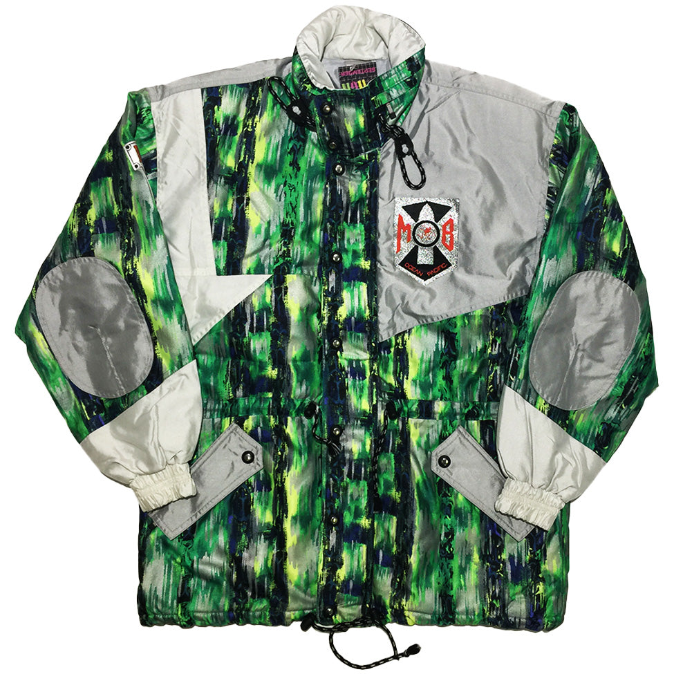 MOB Green and Silver Jacket