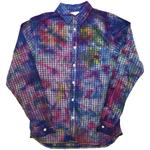 Longsleeve Tie Dye Button Up