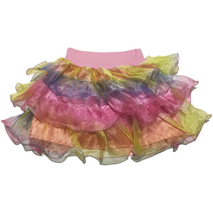 Rainbow Sheer Skirt