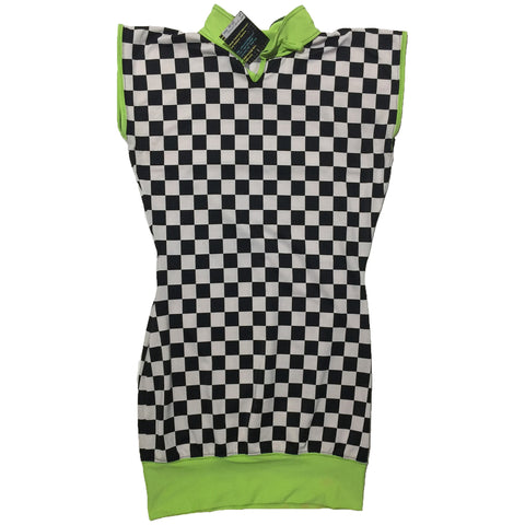 Gypsywolf Checkered Mini Dress