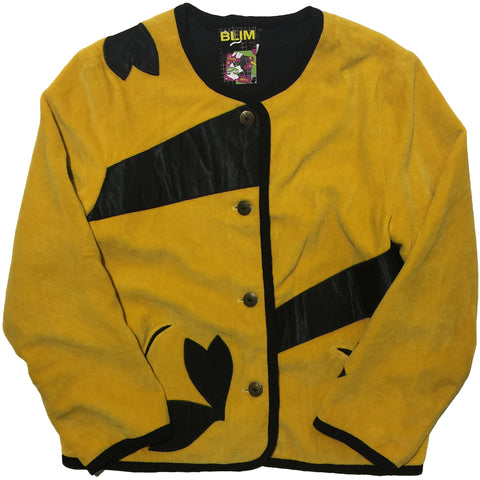Yellow Fleece Jacket