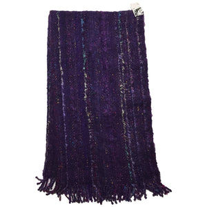 Large Purple Wool Blanket