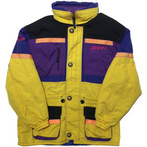 Sci Paradisea Yellow Purple Ski Jacket