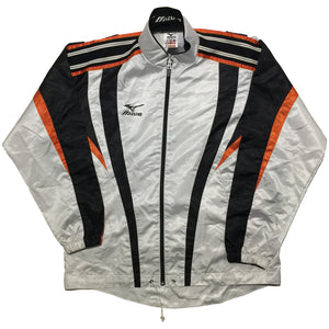 Mizuno White and Orange Jacket