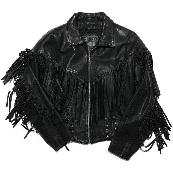 Pelle Cuir Leather Jacket w/ Straps
