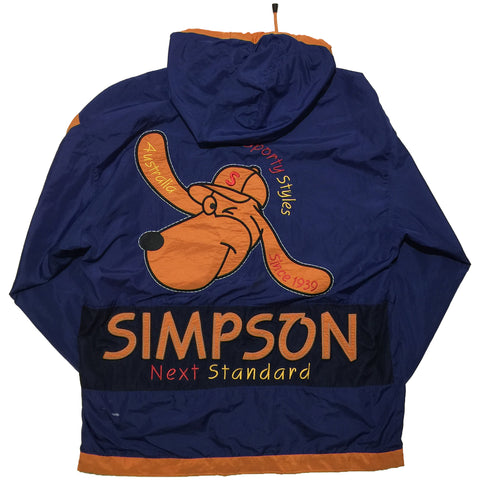 Simpson  Blue and Orange Jacket