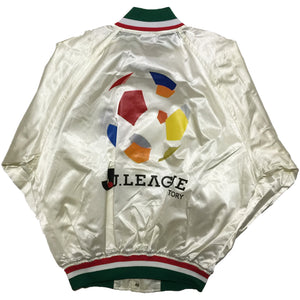 J. League Suntory White Nylon Jacket