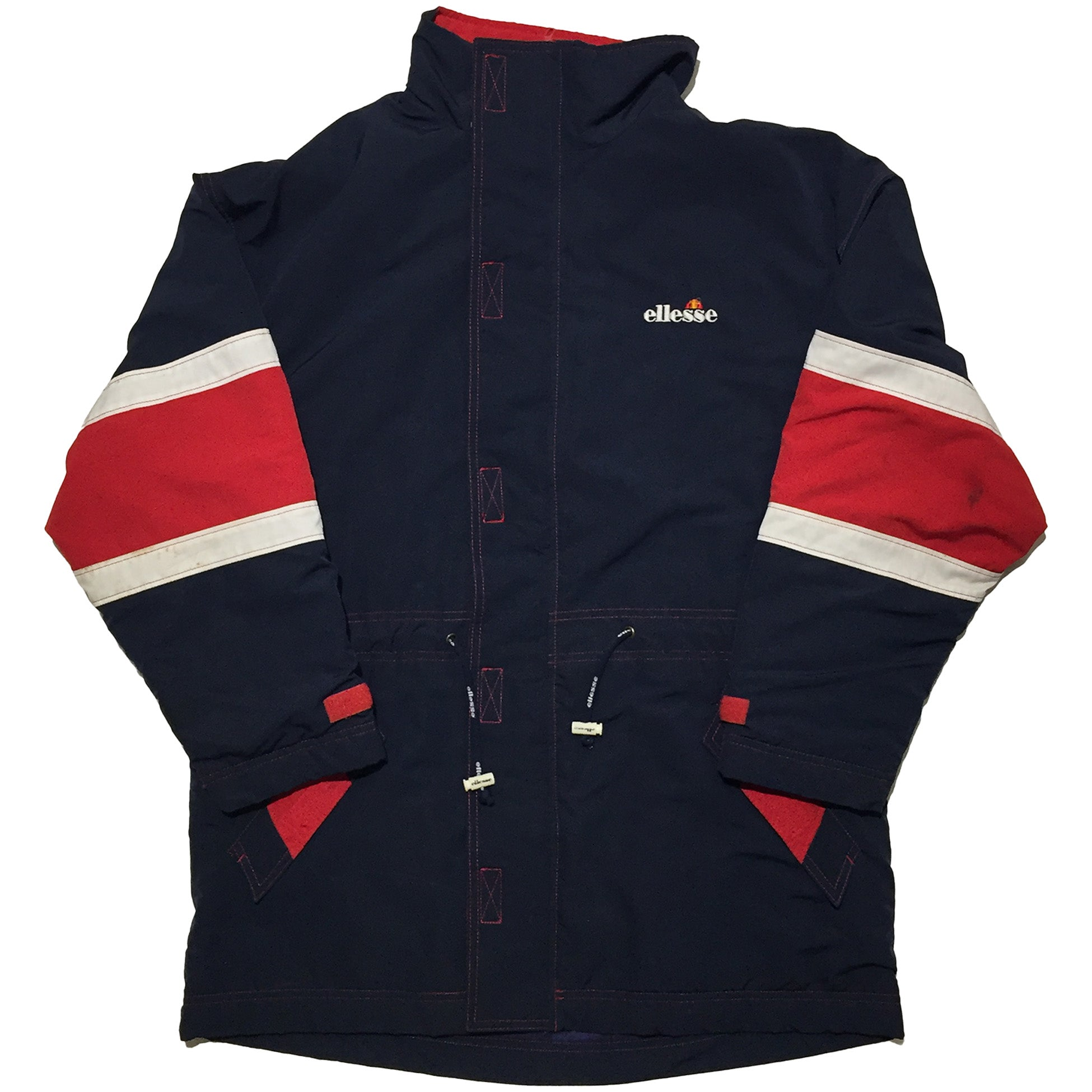 Ellesse Black and Red Jacket