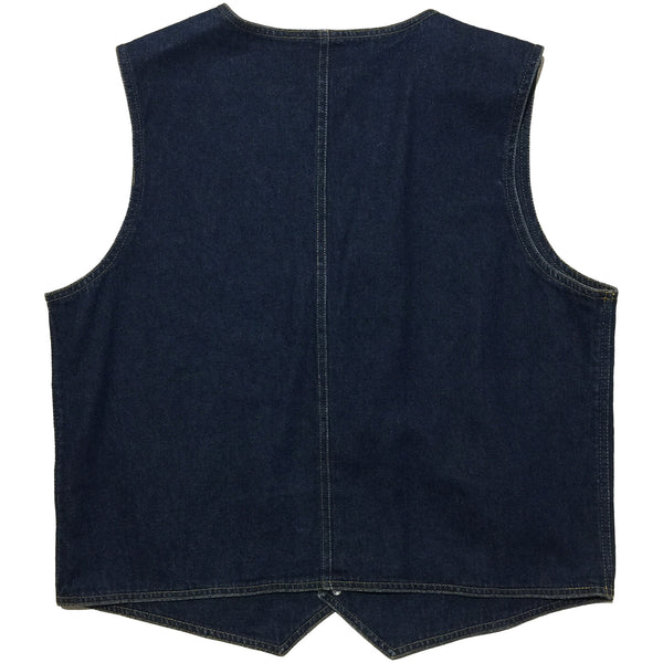 Background Blues Denim Vest