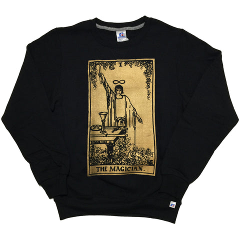 "By Tooth and Claw for Blim ""Magician"" Crewneck Sweater"