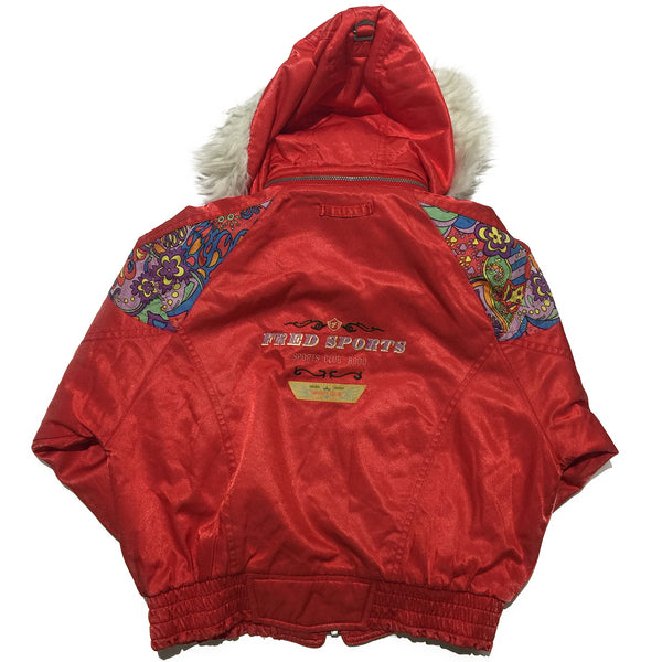 Fred Red Ski Jacket