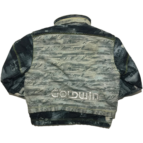 Goldwin Blue Print Ski Jacket