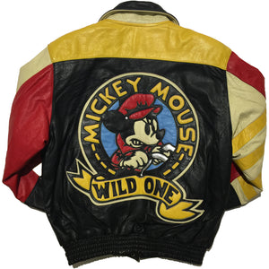 Wild One Mickey Mouse Leather Jacket