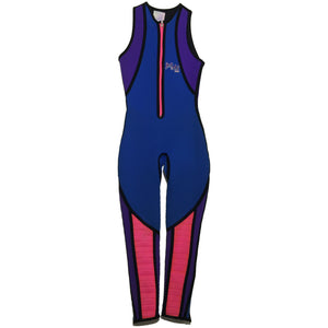 Blue, Purple, Pink Jet Ski Suit