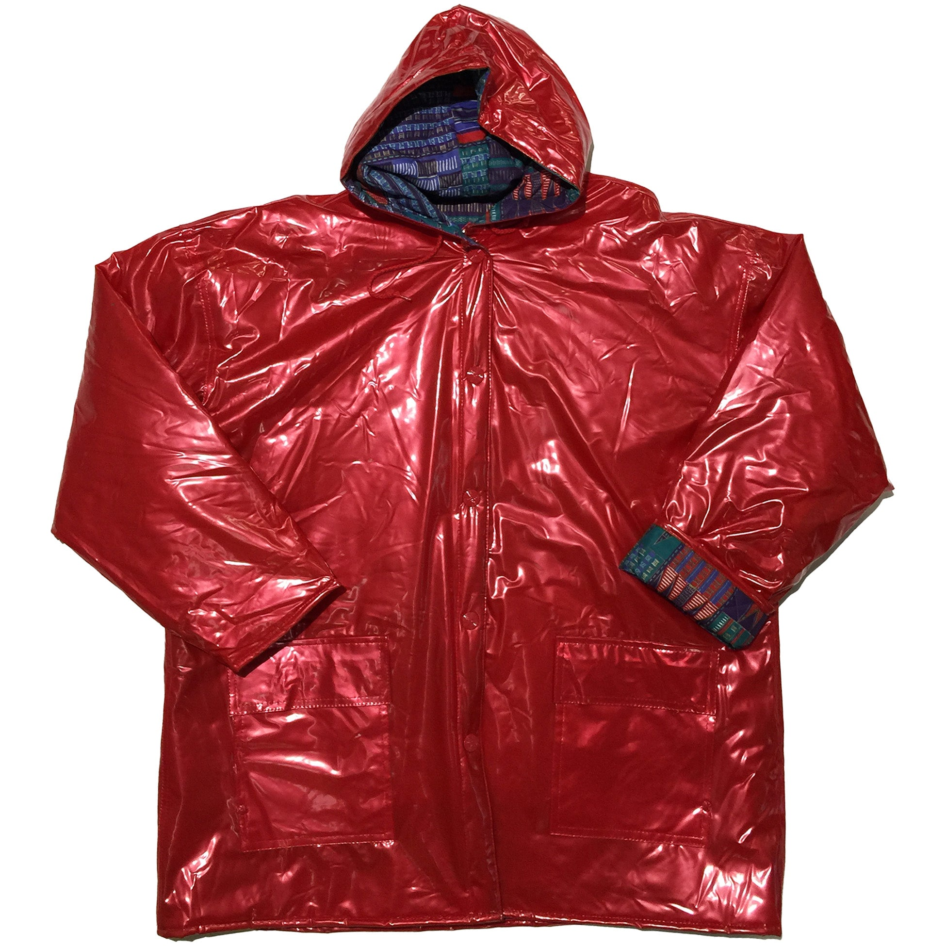 Keiw Sporn Red Plastic Jacket