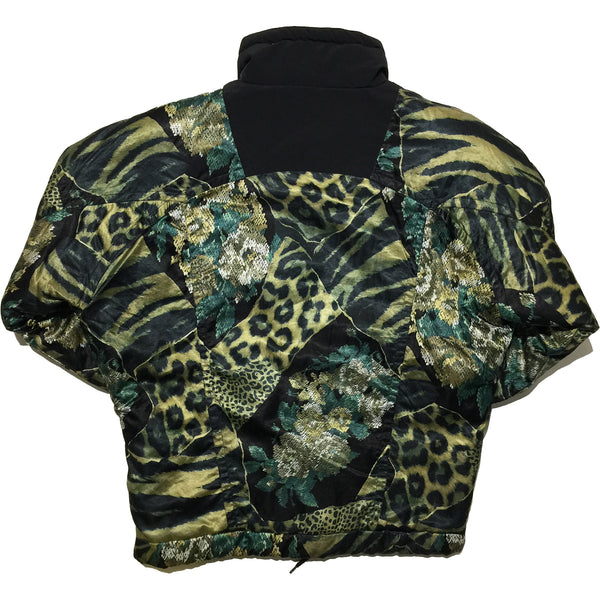 Medissa Scale and Leopard Print Jacket