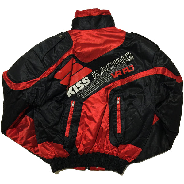Kiss Racing Team Red and Black Jacket
