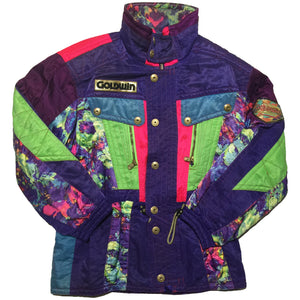Goldwin Purple Blue Green Jacket