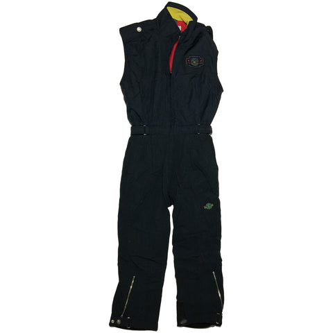 Killy Black Sleeveless Ski Suit