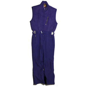 Ellesse Purple Sleeveless Ski Suit