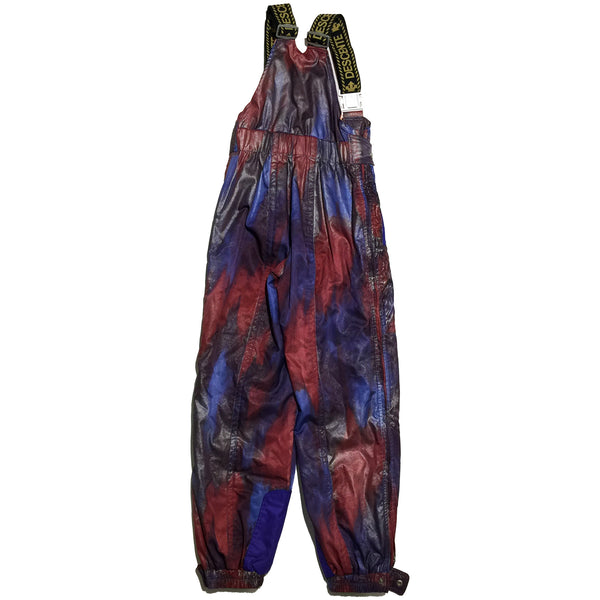 Descente Red and Blue Ski Pants