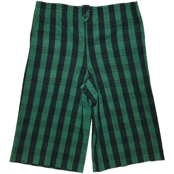 Kyoto Yukata Green Plaid Print Set