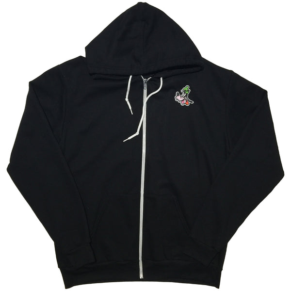 RUN MIC ZIP UP HOODIE