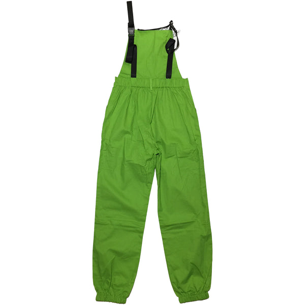 Green Overalls with Chain