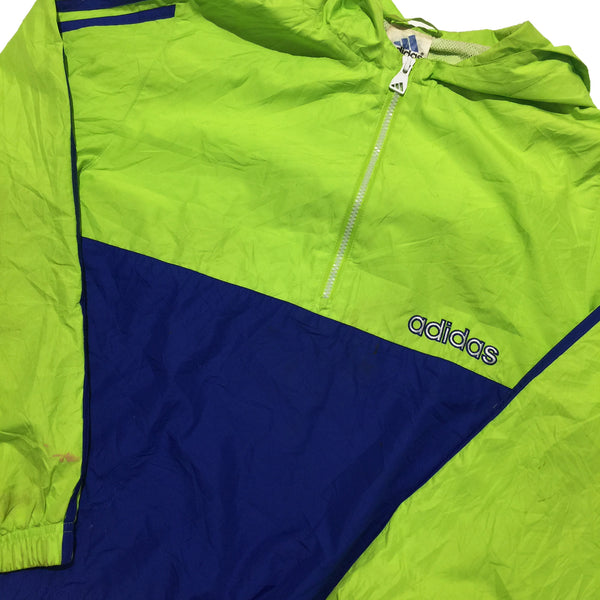 Adidas Lime Blue Jacket