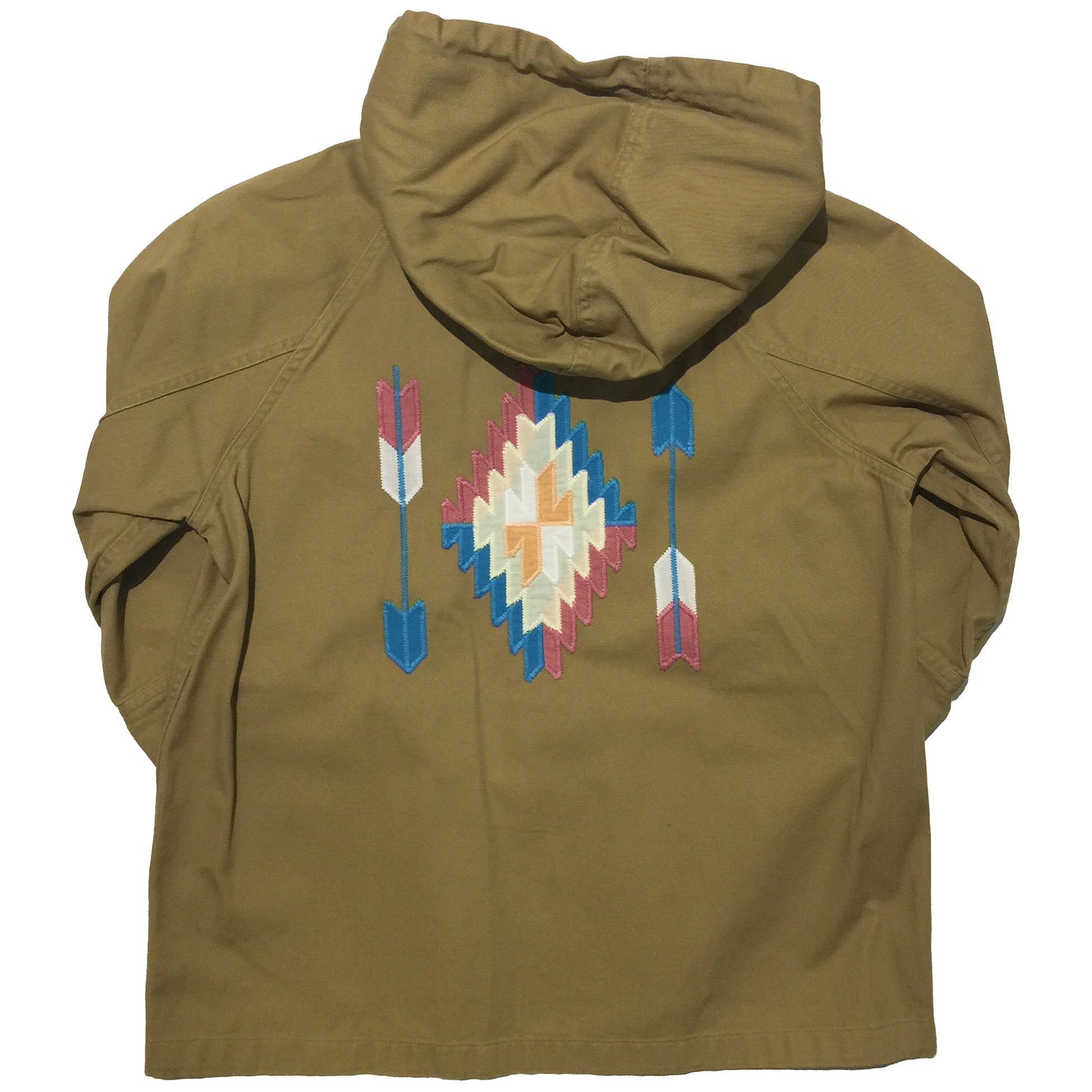 Titicaca Brown Hooded Jacket