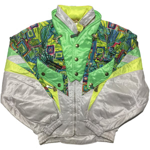 Phenix Lime Green White Jacket
