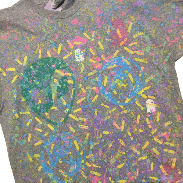 Blim Print Splatter All Over Print Tee