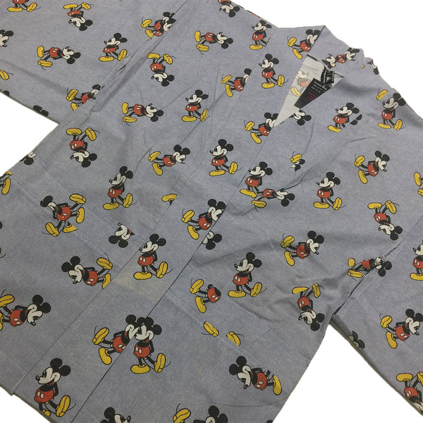 Classic Mickey Mouse Grey All Over Print Haori