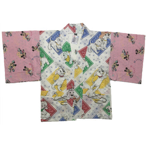 Bandana Dalmations and Minnie Mouse Sleeves Haori
