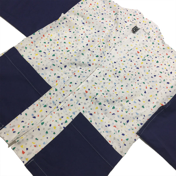 Red, Blue, Green, Yellow, Grey Speckled and Navy Haori