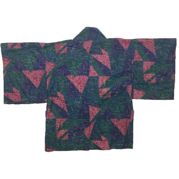 Retro Triangular All Over Print Haori