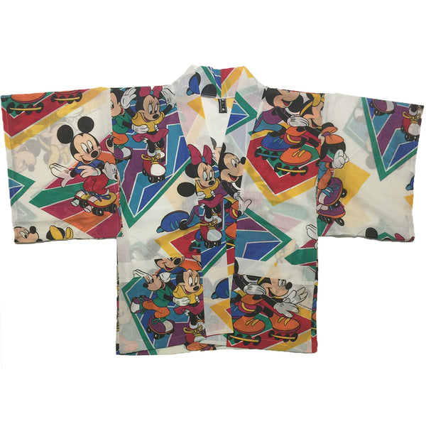 Mickey and Minnie Roller Skating Haori