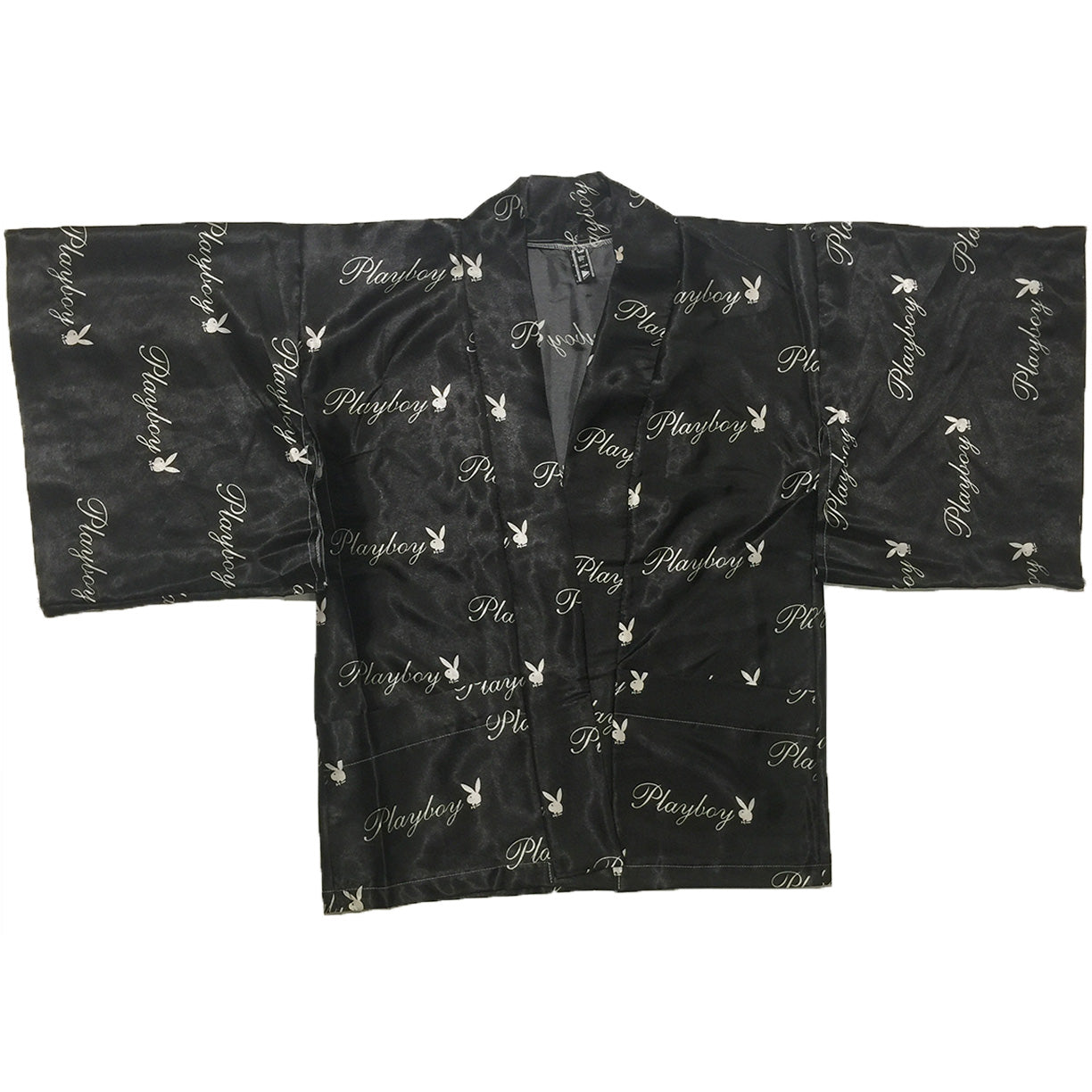 Playboy Black Silk Haori