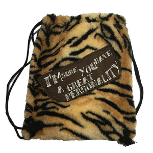 Adjustable Sling Bag Tiger Stripe With Patch