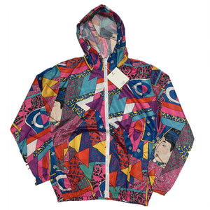 Vibrant Zip Up Jacket