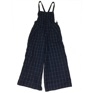 Vintage Checkered Overalls