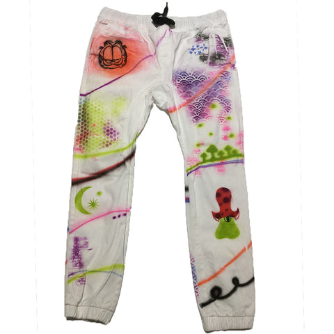 Hand Painted Air Brushed Pants by Just Kurdt for Blim